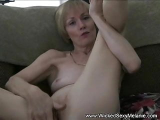 Granny Melanie With Celebration Amateur GILF