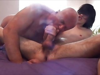 Old Man Pleasures Twink