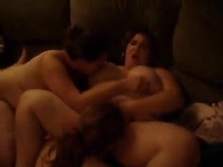 BBW wives lesbian night