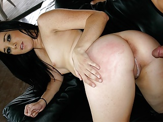 Insatiable brunette with tiny tits, Amy Starz got fucked har