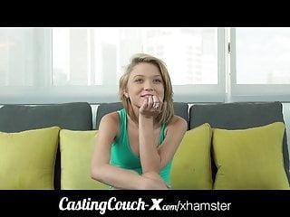 Casting Couch X Cute Florida modella bionda nuda