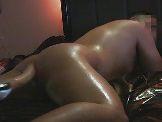 Self Bondage with Fucking Machine and Nuru Gel