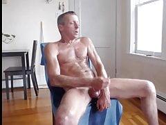exhibitionist dad jerking off 2