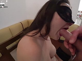 Hot girl facefuck stepbrother...