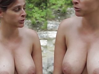 Cute french woman nude interview...