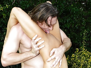 Roasting hot Vanessa Lane had crazy ass intercourse within the yard