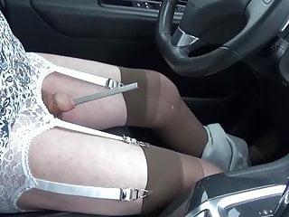 Car road lingerie nylon dil...