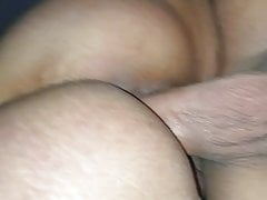 Wet thai pussy riding my cock