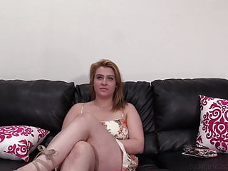 Sexy Ginger Thick Chick Josline Slammed In 1st Porn Audition