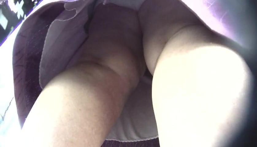Granny Hidden Upskirt