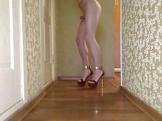 Amateur Shemale Lingerie Shemale Hd Videos video: my legs in high heels