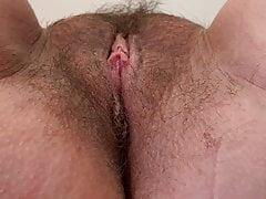 Hairy wet juicy pussy worship