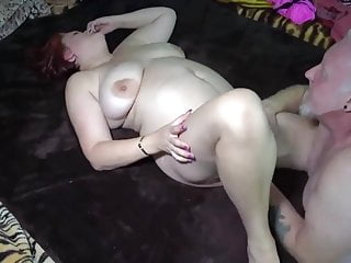 Couple tape bbw daddy milf is sexy...