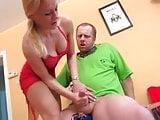 Amateur Blonde Mature Handjob  3