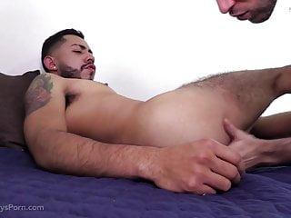 Sexy Latino Hunks Fuck Bareback
