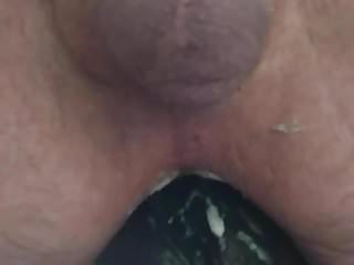 Big fat dildo in my ass