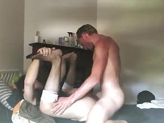 Amateur BF Asian Trap Bareback Riding