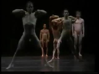 Erotic dance performance 6 nude male ballet...