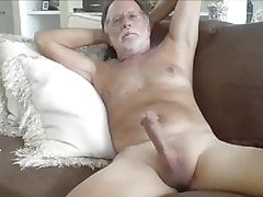 Big hard cock granddad