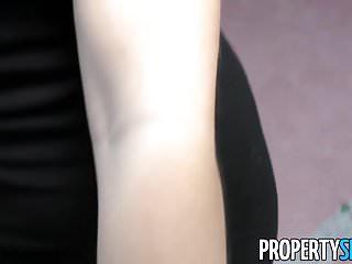 Propertysex spanish babe fucks american at flat showing...