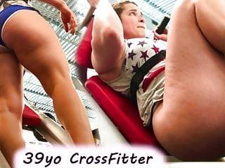 Pornstar weightlifting booty shorts...