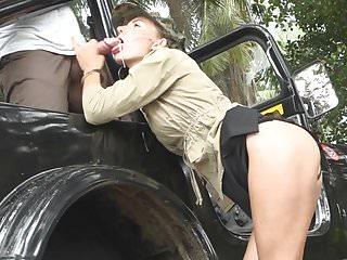 The woman a border guard