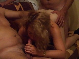 Watch the slut my wife fucked by my...