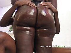 Big beautiful African woman with big ass takes big dick