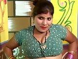 Desi Bhabhi getting Bra & Panty changed by Salesman