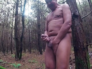 Playing in the in woods