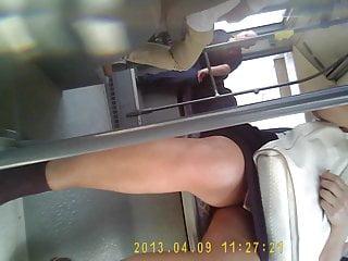 turkish mature upskirt bus