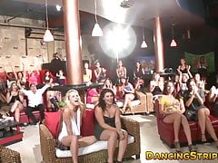 Party loving lady spreads her legs up wide for hung stripper