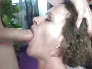 Mature female by a dick...