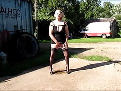 Geile Sau masturbiert und squirting