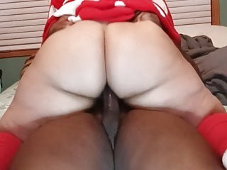 Mrs. Claus getting dick down