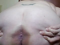 Slut Wife gets naked for Daddy