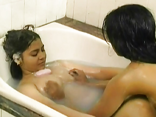 Cute young soapy sex...