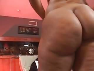 Black on huge thick black latina booty angie...