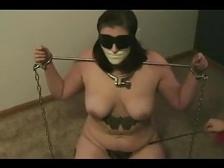 then Girl Chained to Tormented Amateur and Escape tries