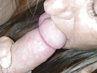 Brunette Handjob Mature video: Wife
