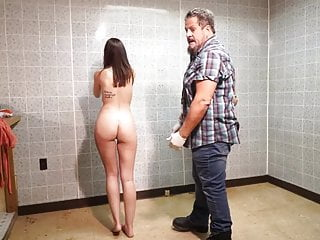Blonde Hd Videos video: ENF arrested and strip search in jail embarrassed and naked