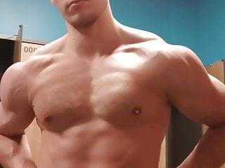 Gym flexing...