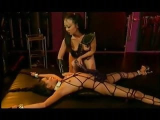 Asian Lesbian Roped And Spanked