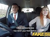 Fake Driving School Ella Hughes Fails her Test on Purpose