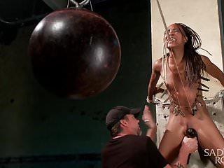 Hot young slut bondage suffering...