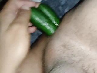 Double cucumber asshole...