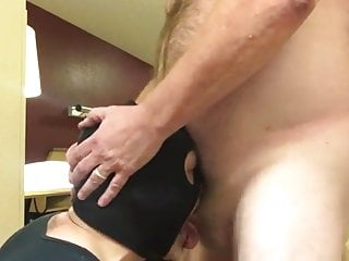 Bj facefuck swallow of hot by masked bearded...