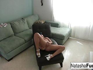 Natasha enjoys a little alone time by herself