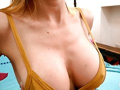 Incredible Busty Blonde Has Round Ass Flawless Pussy n Tits