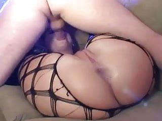 Anal sex in gloves knee high boots...